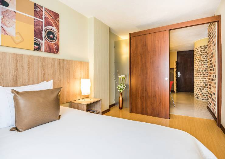 Two bedroom family suites viaggio urbano hotel bogotá